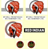 M20   MINNITOYS Red Indian DECAL SET